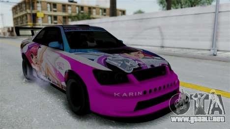 GTA 5 Karin Sultan RS Drift Big Spoiler PJ para las ruedas de GTA San Andreas