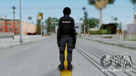 S.W.A.T v2 para GTA San Andreas tercera pantalla