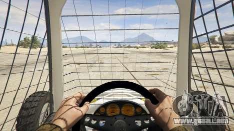 GTA 5 Kart Cross vista trasera