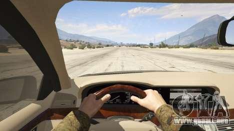 GTA 5 2011 Mercedes-Benz S600 Guard Pullman vista trasera
