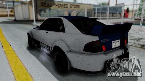 GTA 5 Karin Sultan RS Rally PJ para el motor de GTA San Andreas