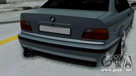 BMW 320 E36 Coupe para GTA San Andreas vista hacia atrás