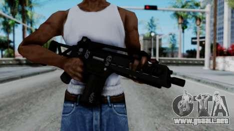 G36k from GTA 5 para GTA San Andreas tercera pantalla