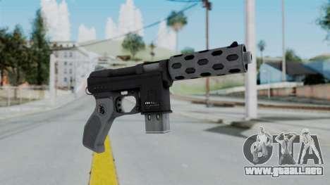 GTA 5 Machine Pistol - Misterix 4 Weapons para GTA San Andreas