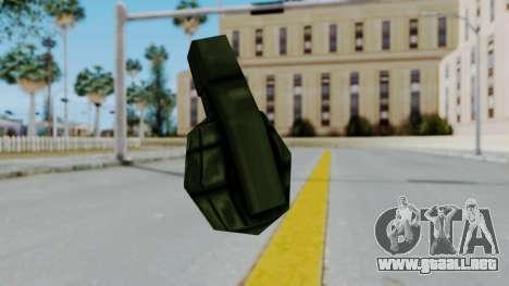 GTA 3 Grenade para GTA San Andreas tercera pantalla