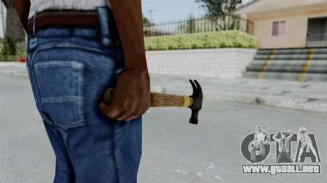 GTA 5 Hammer para GTA San Andreas tercera pantalla