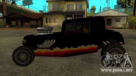 Diablos Hotknife para GTA San Andreas left