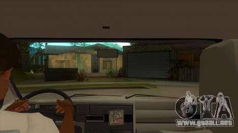 VW T4 Mrtvačka ruedas para visión interna GTA San Andreas