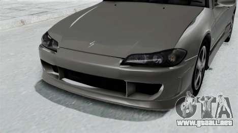 Nissan Silvia S15 Spec-R 2000 para GTA San Andreas vista hacia atrás