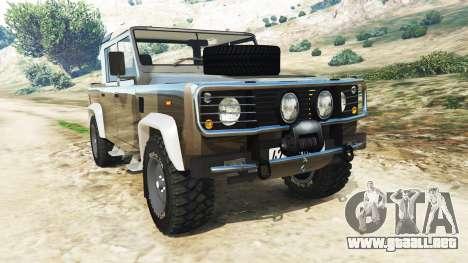 Land Rover Defender 110 Pickup para GTA 5