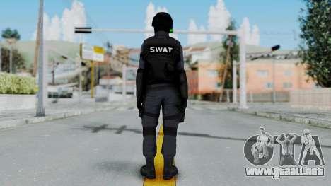 S.W.A.T v3 para GTA San Andreas tercera pantalla