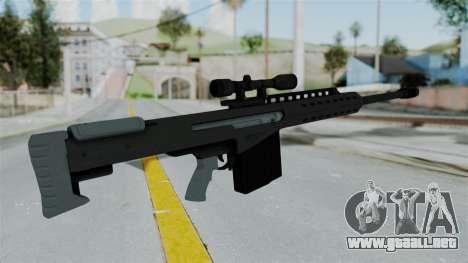 GTA 5 Heavy Sniper (M82 Barret) para GTA San Andreas tercera pantalla