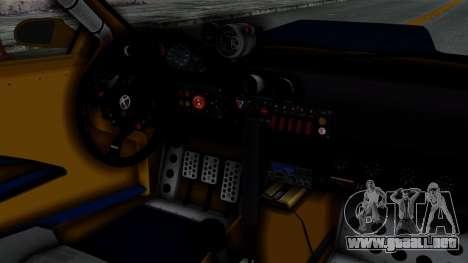 GTA 5 Karin Sultan RS Rally PJ para la visión correcta GTA San Andreas