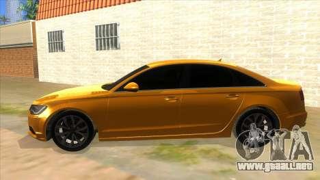 Audi A6 2012 para GTA San Andreas left