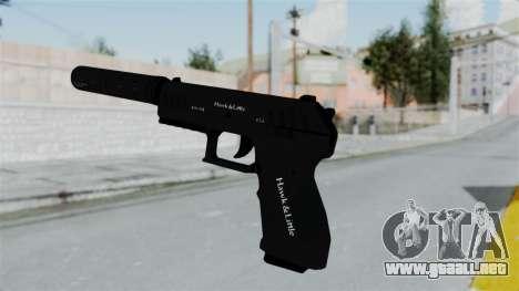 GTA 5 Combat Pistol para GTA San Andreas tercera pantalla