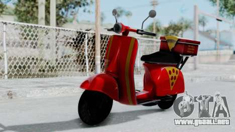 GTA 5 Pizza Boy para GTA San Andreas