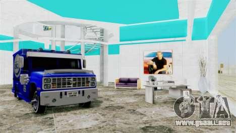 SF Paul Walker of Always Evolving Car para GTA San Andreas tercera pantalla