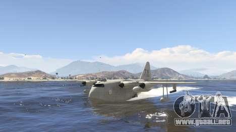 GTA 5 Amphibious Plane sexta captura de pantalla