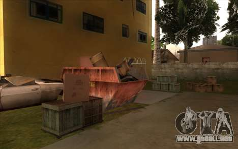 El trabajo de reparación de la Calle Grove para GTA San Andreas décimo de pantalla