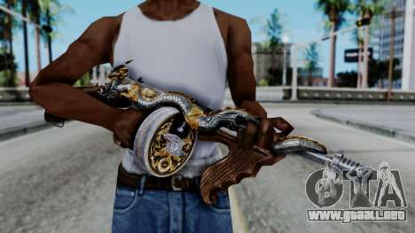 Dragon Thompson para GTA San Andreas
