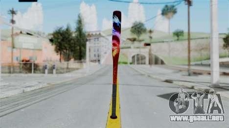 GTA 5 Baseball Bat 3 para GTA San Andreas segunda pantalla