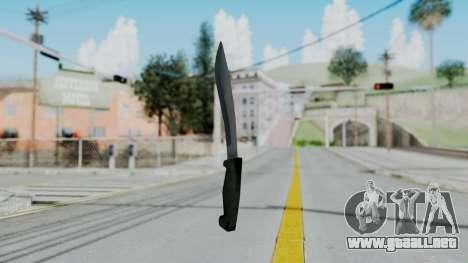 Vice City Knife para GTA San Andreas segunda pantalla
