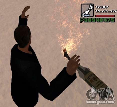 Un Cóctel Molotov para GTA San Andreas