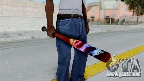 GTA 5 Baseball Bat 3 para GTA San Andreas