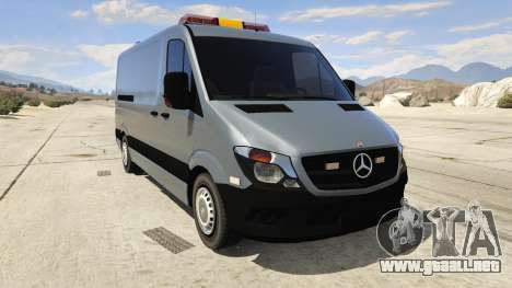 Mercedes-Benz Sprinter Worker Van para GTA 5