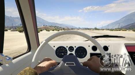 GTA 5 GMC Vandura (A-Team Van) vista trasera