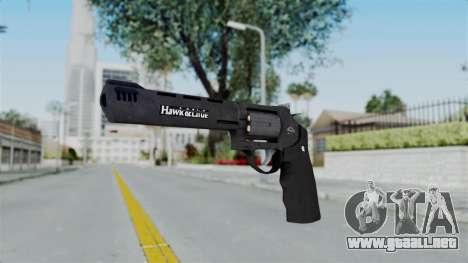 GTA 5 Heavy Revolver - Misterix 4 Weapons para GTA San Andreas