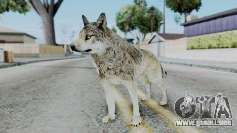 Wolf para GTA San Andreas segunda pantalla