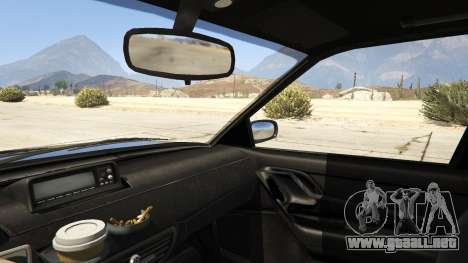 GTA 5 GTA IV Solair vista lateral trasera derecha