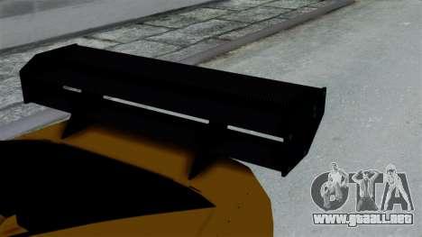 GTA 5 Karin Sultan RS Drift Big Spoiler PJ para la visión correcta GTA San Andreas