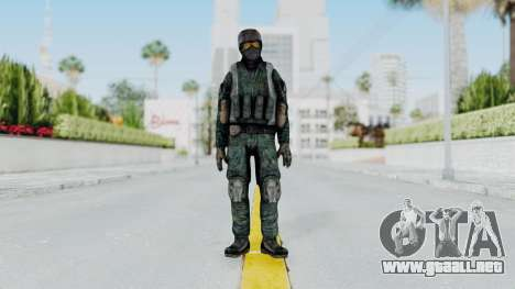 Counter Strike Source Custom Urban Model para GTA San Andreas segunda pantalla