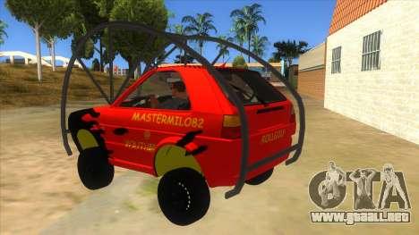 Volkswagen Golf MK2 RollGolf para GTA San Andreas vista posterior izquierda
