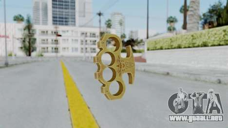 The Vagos Knuckle Dusters from Ill GG Part 2 para GTA San Andreas