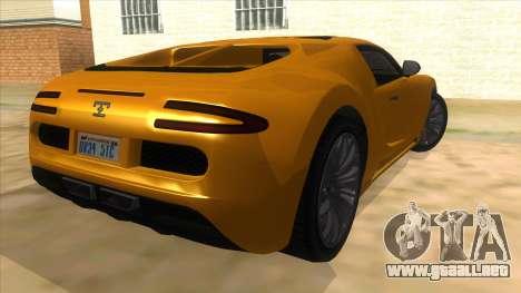 GTA 5 Truffade Adder para la visión correcta GTA San Andreas