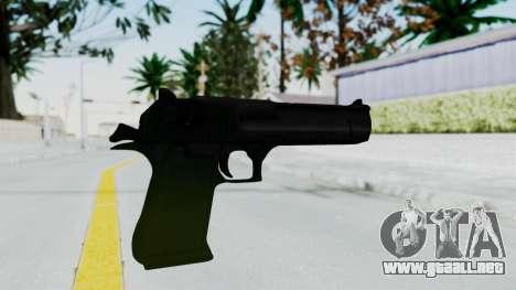 Pouxs Desert Eagle v1 para GTA San Andreas segunda pantalla