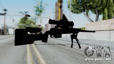 TAC-300 Sniper Rifle para GTA San Andreas segunda pantalla