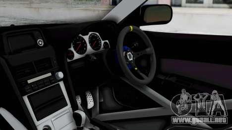 Nissan Skyline R34 PickUp para la visión correcta GTA San Andreas