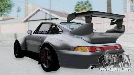 Porsche 911 GT2 Widebody 1995 NFS 2015 para GTA San Andreas left