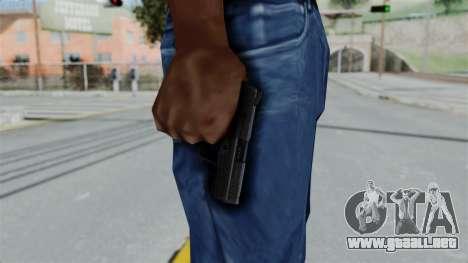 HK45 Black para GTA San Andreas tercera pantalla