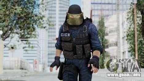 GIGN 1 Masked from CSO2 para GTA San Andreas