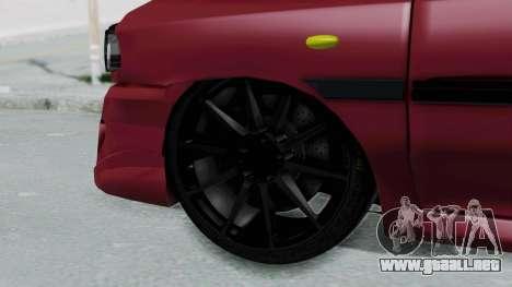 Kia 131 SX Full Tuning para GTA San Andreas vista posterior izquierda