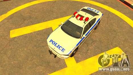 Bravado Buffalo Police Patrol [original wheels] para GTA 4 visión correcta