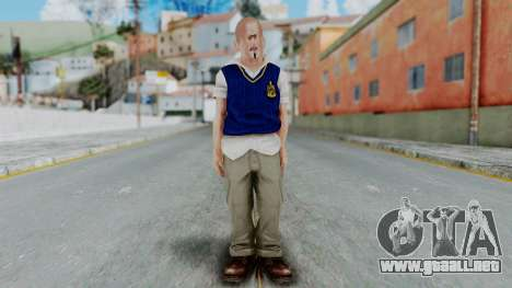 Bully Insanity Edition - Jimmy para GTA San Andreas segunda pantalla