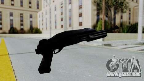 GTA 3 Shotgun para GTA San Andreas segunda pantalla
