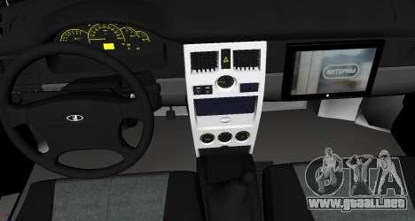 VAZ 2110 v. 2.0 para la visión correcta GTA San Andreas