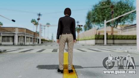 GTA 5 Karen Daniels Biker para GTA San Andreas tercera pantalla